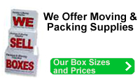 Moving Supplies, Boxes, Storage