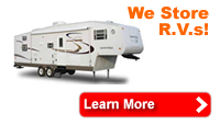 rv storage, boat storage, commercial storage