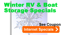 rv supplies, recreational vehicle, boat storage